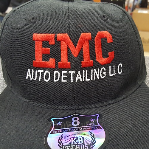 EMBROIDERY ON HAT