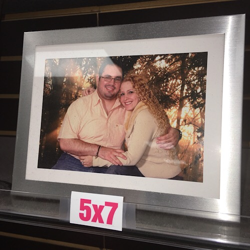 5 X 7 picture only